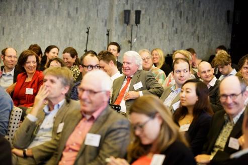 Sfeerimpressie - discussie met de zaal. Foto Fred Ernst