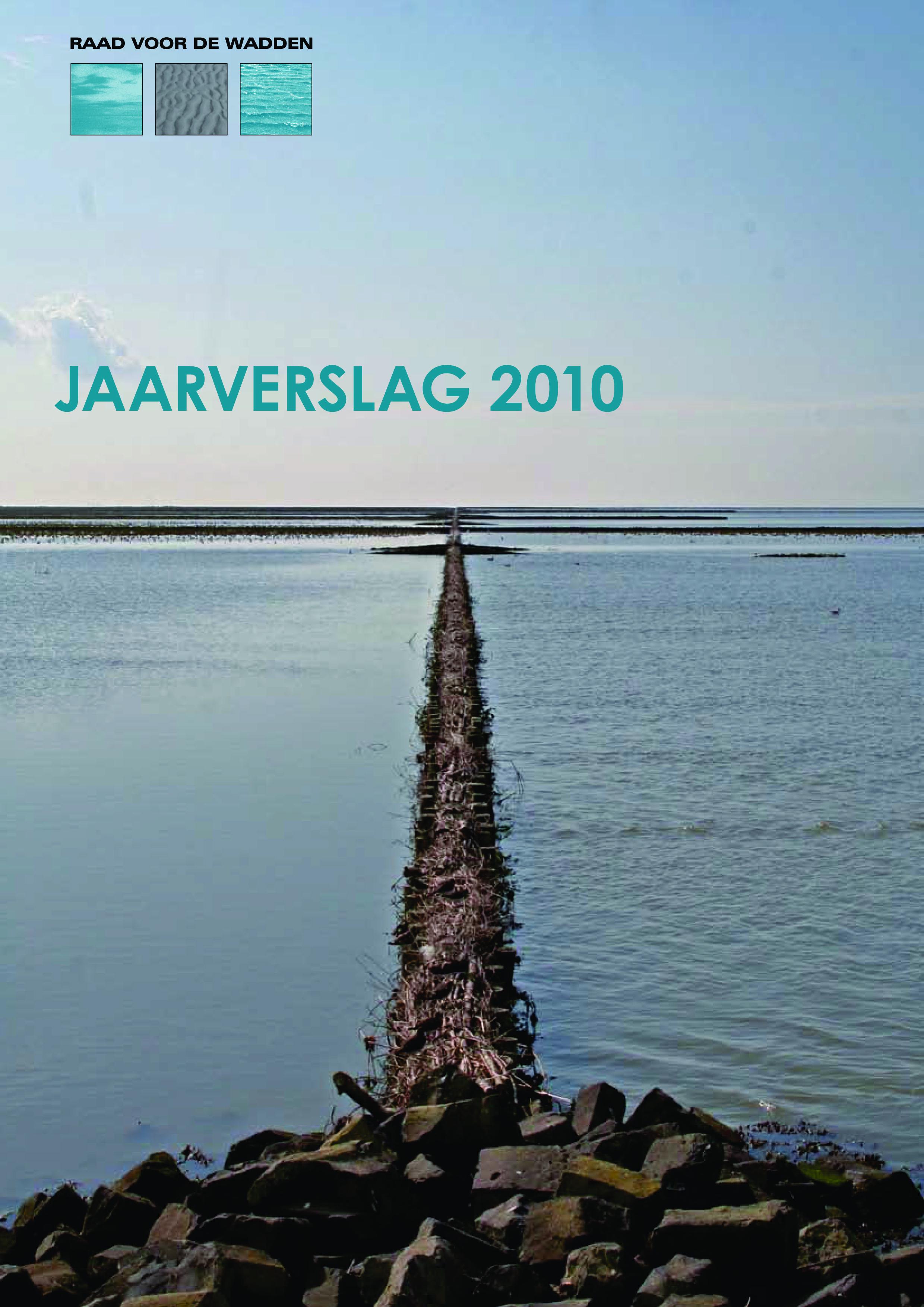 Omslagfoto jaarverslag Raad voor de Wadden 2010