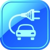 icoon electrische auto