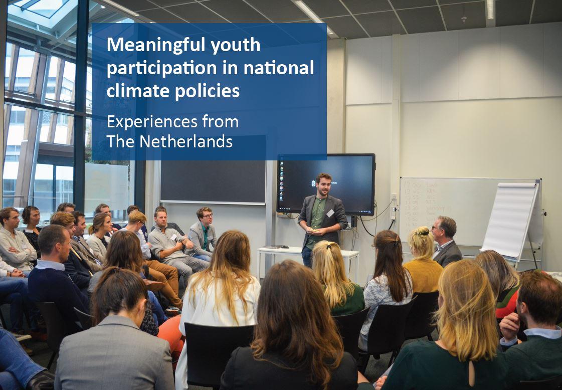 foto van deelnemers aan de workshop jongerenparticipatie COP25 in Madrid
