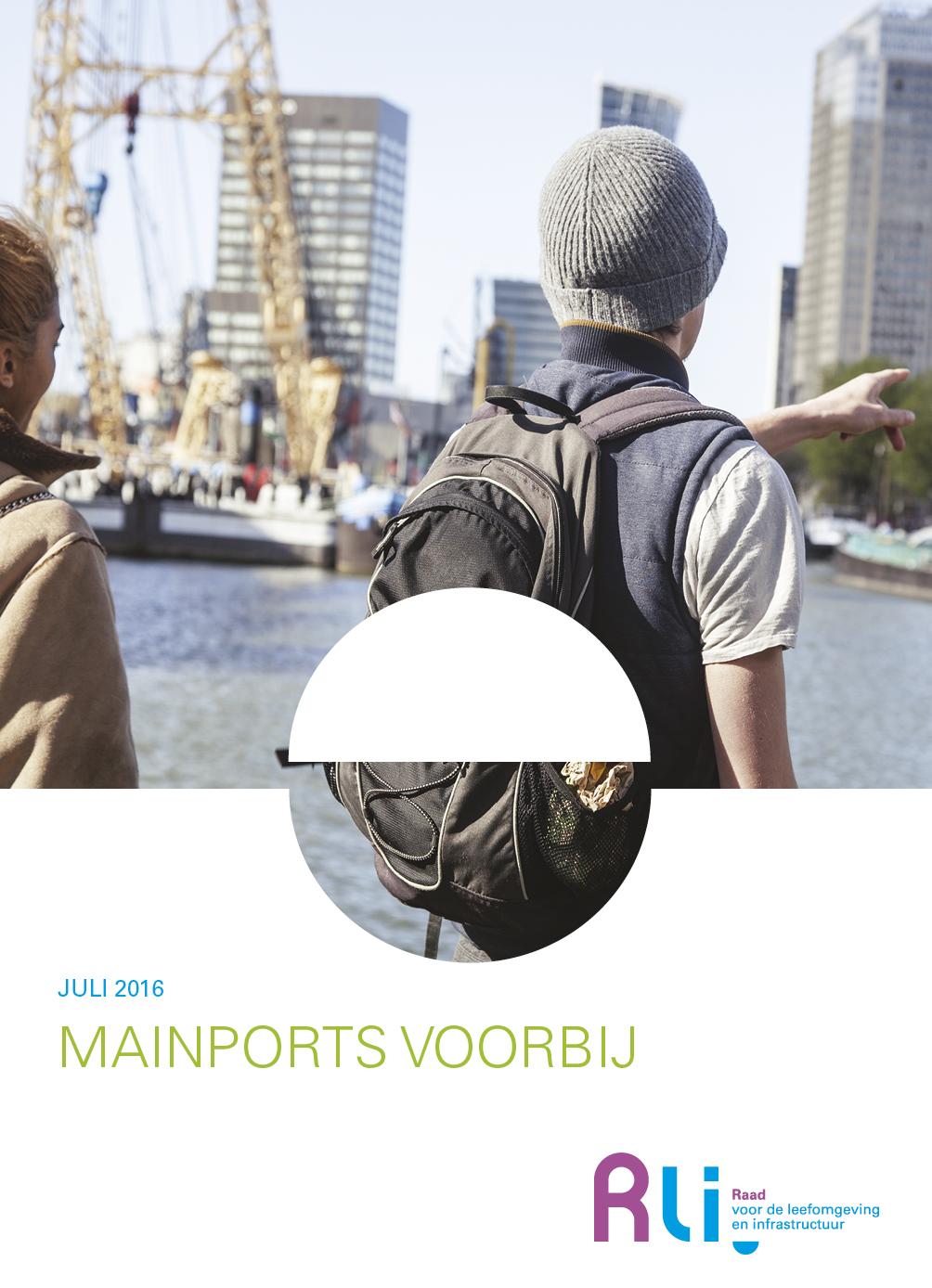 """Omslag advies """"Mainports Voorbij"""""""