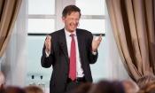 Foto: Rli voorzitter Jan Jaap de Graeff begeleidt de presentatie van het advies en het debat met de zaal