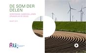 kaft met titel en foto van akker,dijk en windmolens