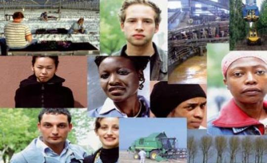 Foto multiculturaliteit op de groene arbeidsmarkt