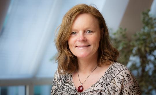 Portretfoto Anneke Verschoor