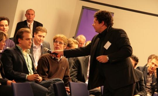 fotomoment conferentie maak ruimte voor vernieuwing