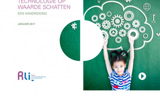 foto van de cover: grafische afbeelding van radartjes, puzzelstukje, vraagteken en een kind