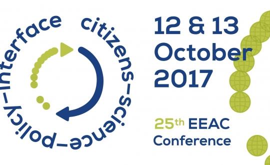 logo met titel en datum van de conferentie