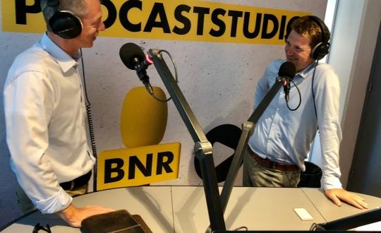 Opnamen in de studio met Geert Kloppenburg en Jeroen Kok