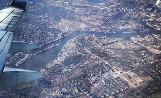 Luchtfoto metropoolregio Amsterdam - Schiphol