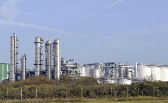 chemische industrie in het landscahp