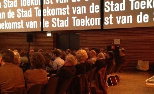 foto zaal discussieavond Pakhuis de Zwijger